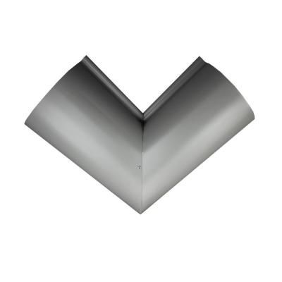 Best Spectra Metals 6 In Half Round Dove Gray Aluminum Inside 400 x 300