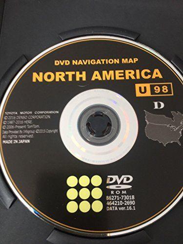 2017 Toyota Navigation Dvd Gen 6 U98 16 1 Map Gps Update Compatible With Following Models 4runner 2010 Avalon Camry