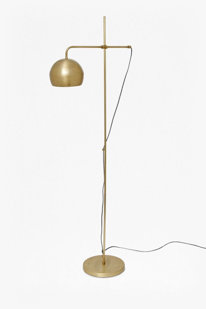 Spun Done Floor Lamp | Floor lamp, Spin and Stainless steel