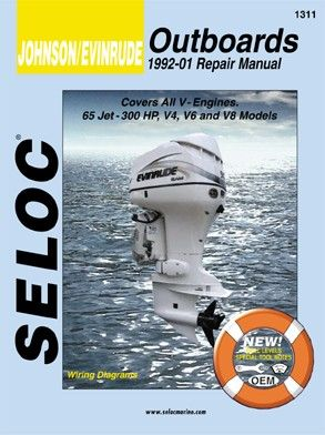 Johnson Evinrude Outboard 1992 2001 V Engines Service Repair Manuals Outboard Repair Manuals Automotive Engineering