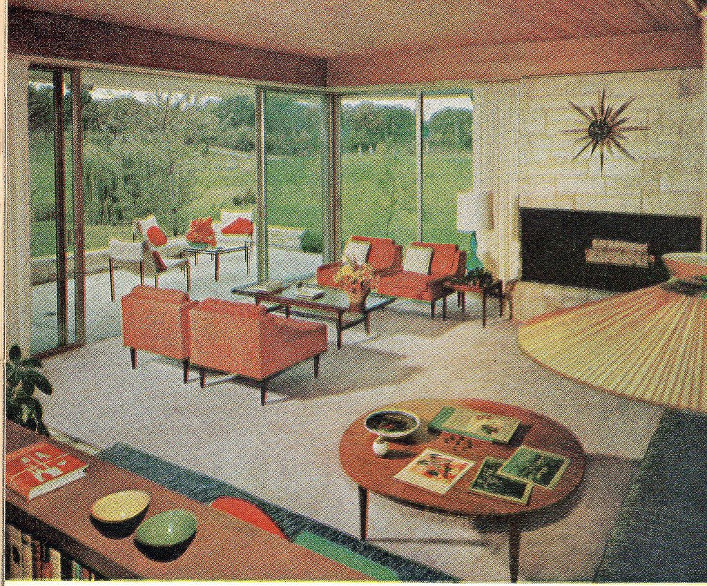 Living Room 1960 | From The American Home August 1960. | Ethan | Flickr