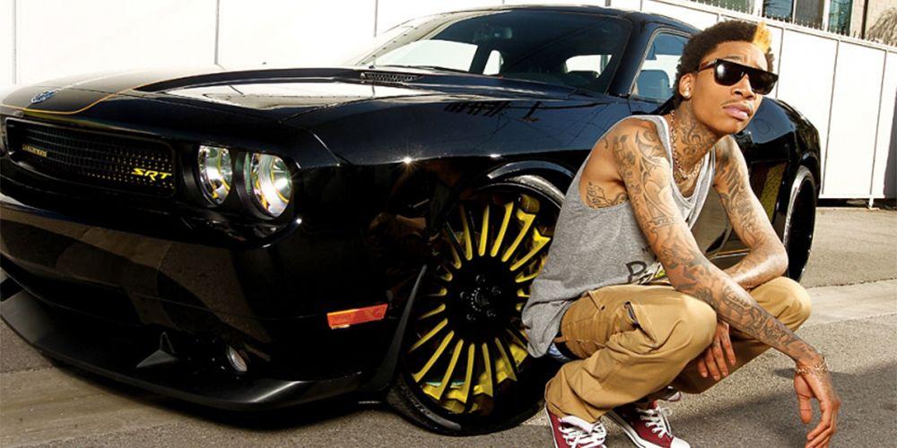 Forgiato Disegno on Wiz Khalifa's Dodge Challenger SRT   The