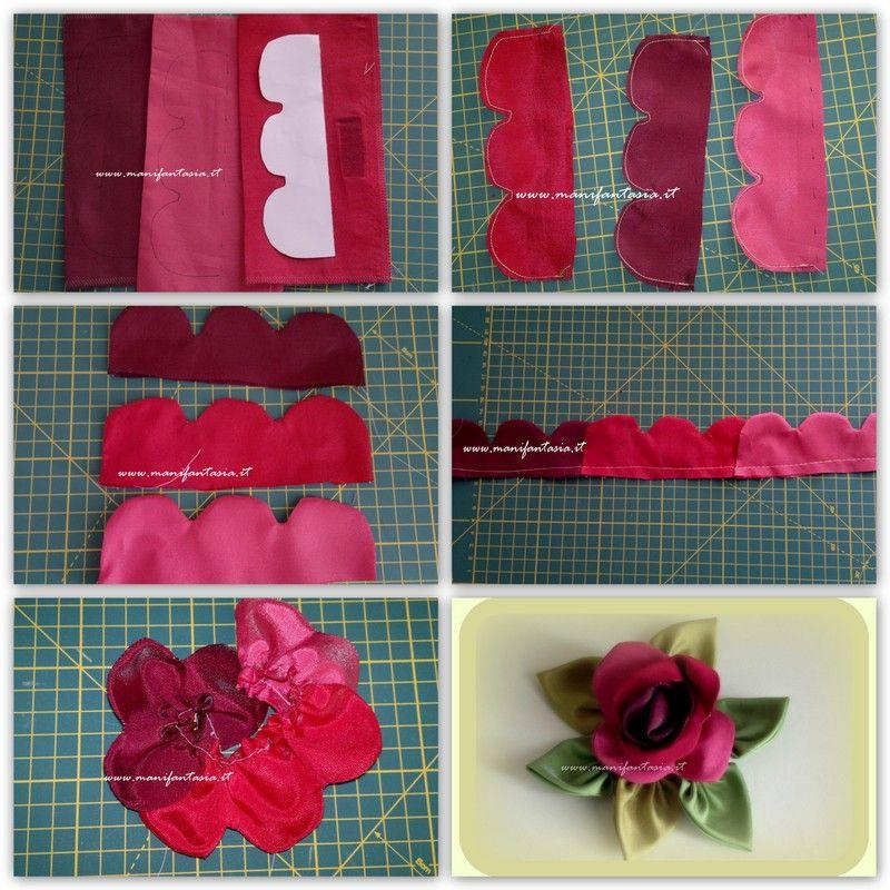 rose di stoffa 2