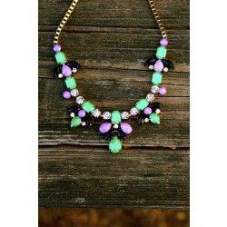 Reddress // Falling Leaves Necklace - $24.00