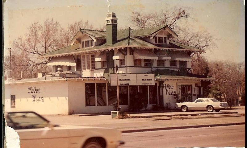 The Original House of Blues  -  In the early '70s, Mother Blues on Lemmon Avenue was where it was at. FROM THE 1970S THROUGH THE EARLY '80s, Mother Blues was the hottest club in town and most of Texas.
