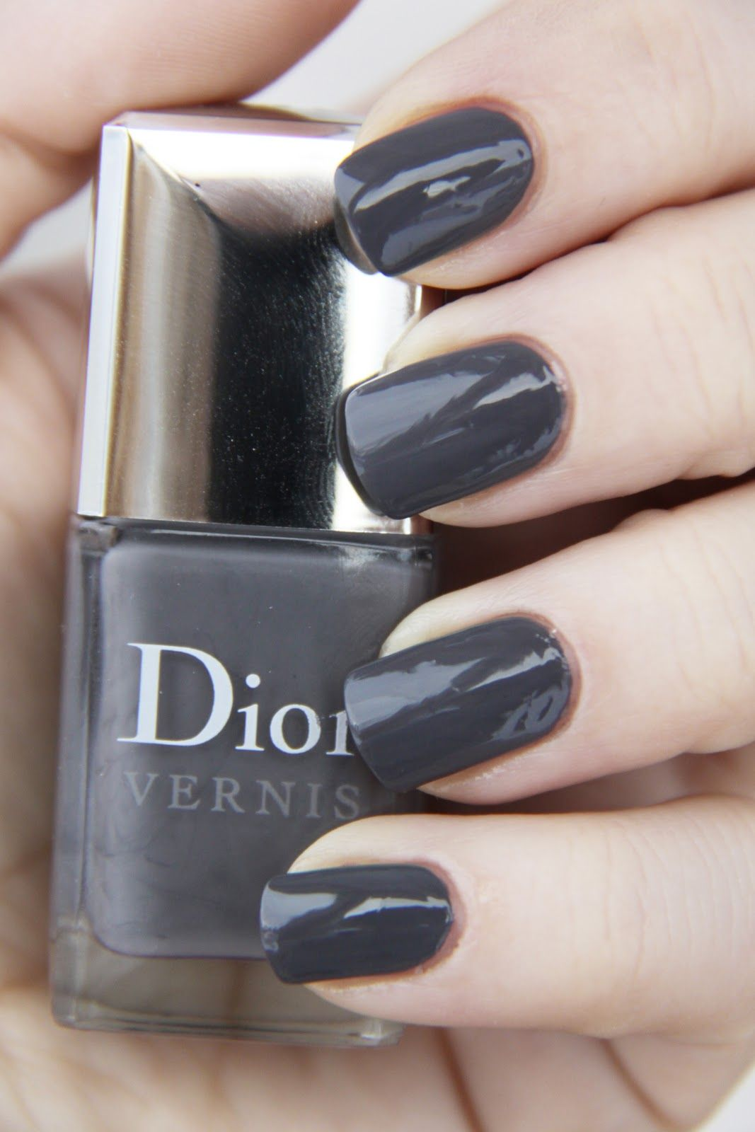 Dior Gris Montaigne Nail Polish Nails How To Do Nails