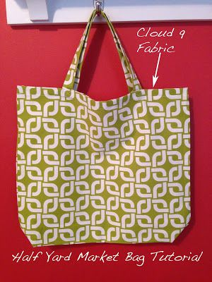 Sew Spoiled: Market Bag Tutorial with Cloud 9 Fabric