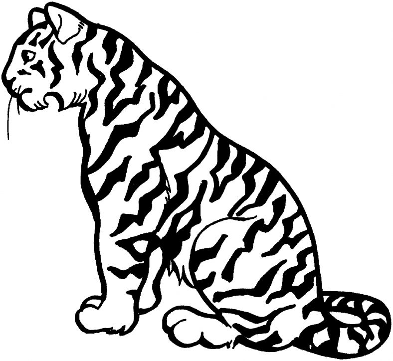 Tiger Coloring Pages For Kids | 101 Coloring in 2020 ...