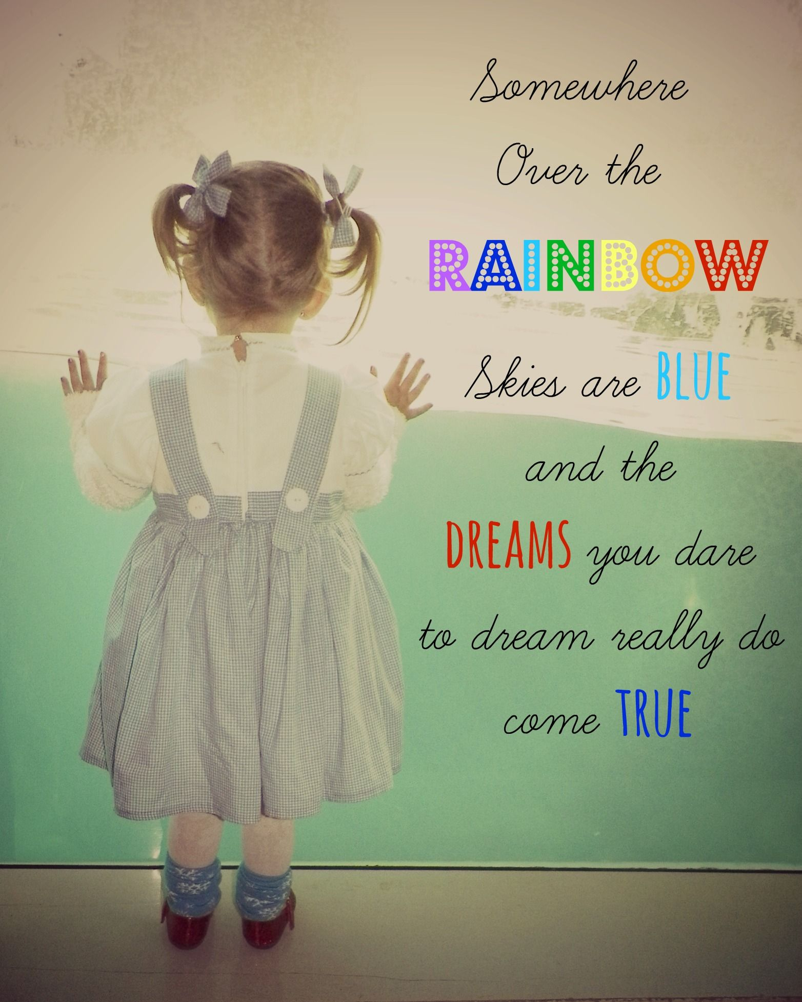 Always Teach Your Children To Dream Big Wizard Of Oz Quote Dorothy Outfit Made By Www Facebook Com Nanascreationswithlove Kies