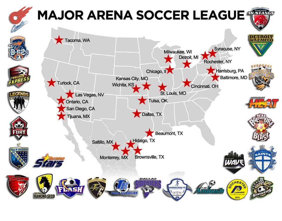 Region3Soccer Major Arena Soccer League emerges from PASL