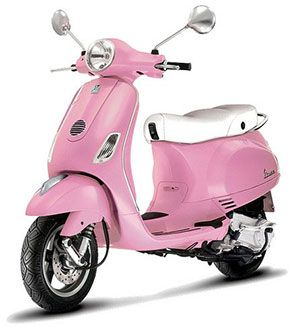 Vespa Gives A Loud Ride To A Good Cause Pink Vespa Pink Moped
