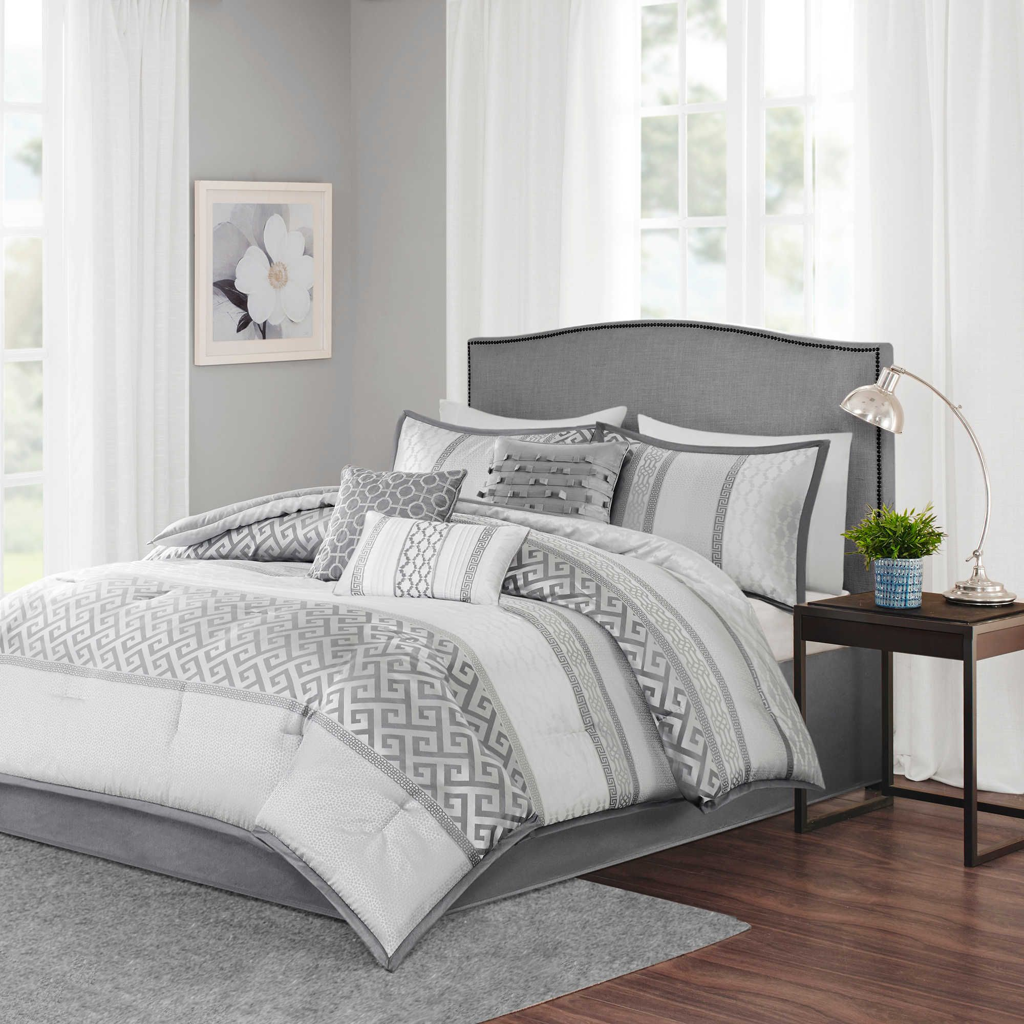 Madison Park Bennett 7 Piece Comforter Set Bed Bath Beyond