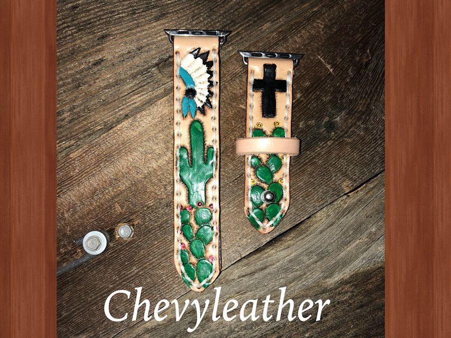 ‼️More Apple Watch Bands headed out‼️ • • chevyleather