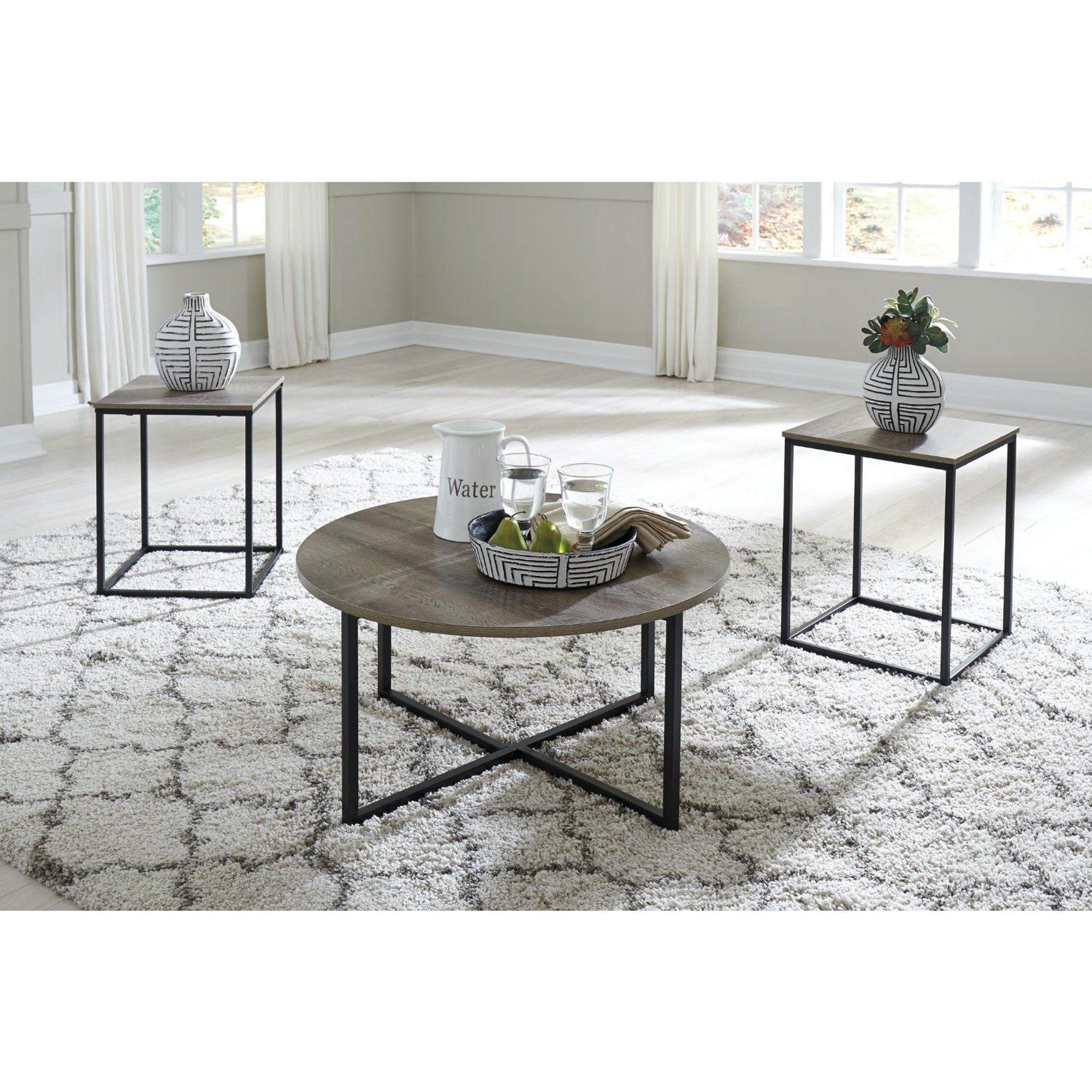 Signature Design By Ashley Wadeworth Living Room Table Set Walmart Com Living Room Table Sets Coffee Table Living Room Table [ 2000 x 2000 Pixel ]