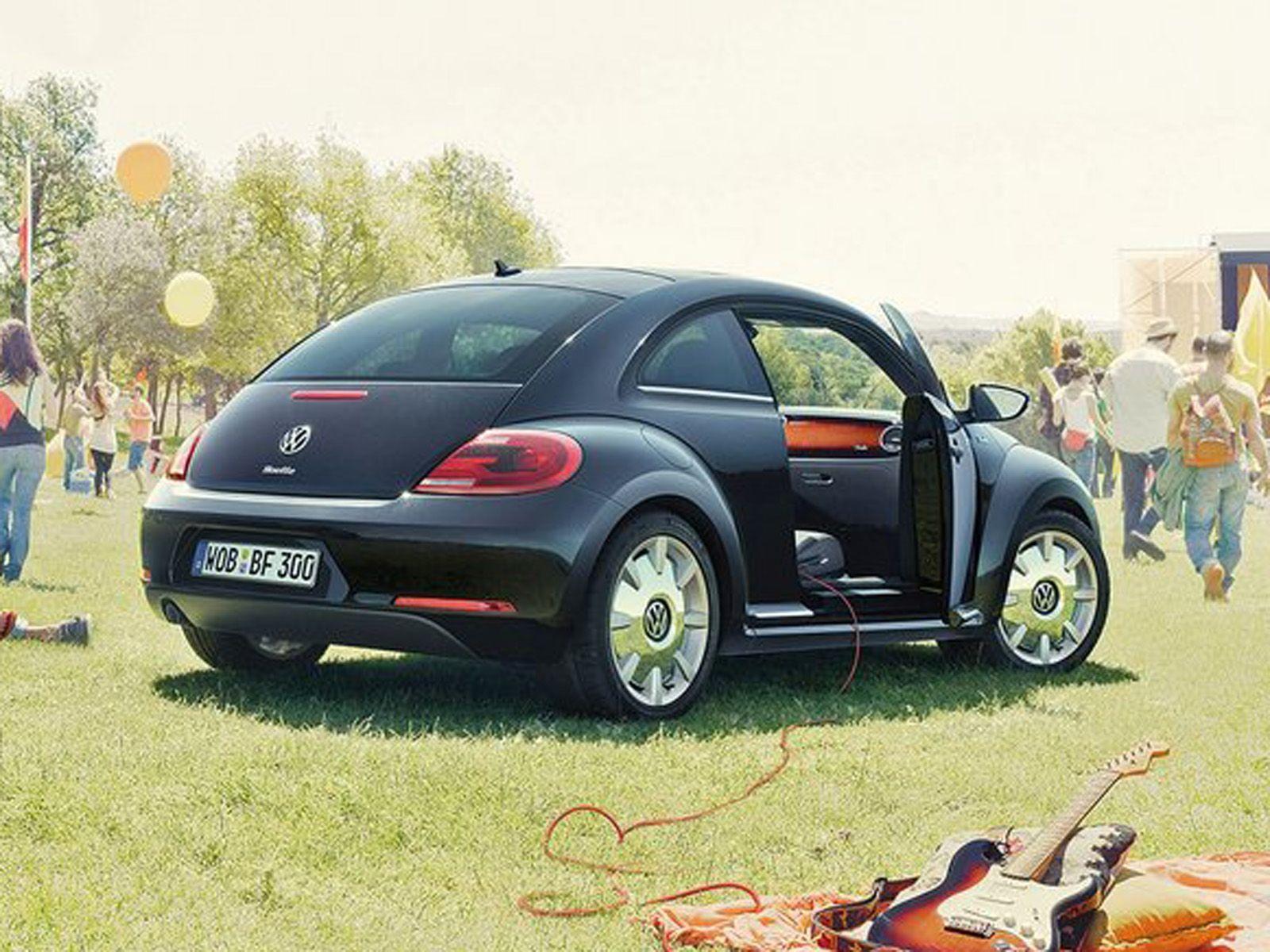 Images volkswagen coccinelle fender volkswagen coccinelle fender en - 2013 Volkswagen Beetle Fender Edition Rear Angle Back Of Car
