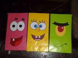 Image result for spongebob bags paper