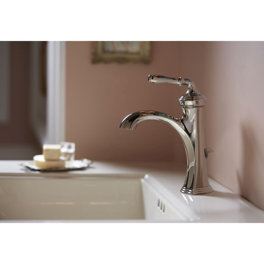 Kohler K 193 4 Cp Devonshire Polished Chrome One Handle Bathroom