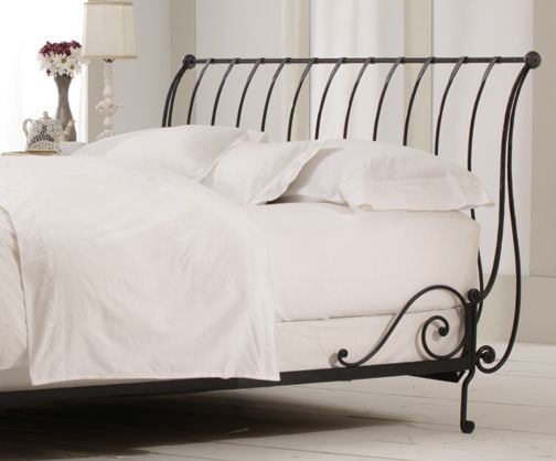 Beds Awesome Wrought Iron Sleigh Bed Wrought Iron Sleigh: HAS ALREADY Paris Wrought Iron Sleigh Bed