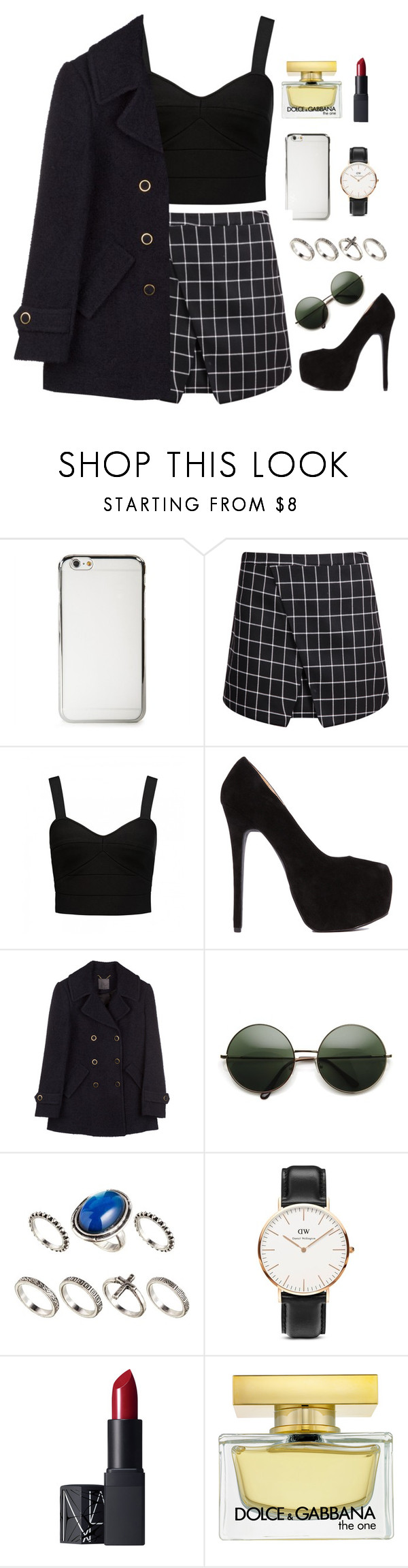 """""""Buddha for mary"""" by sarcasmisallihave ❤ liked on Polyvore featuring Forever New, ASOS, Daniel Wellington, NARS Cosmetics, Dolce&Gabbana, amazon, apple and dolcegabbana"""