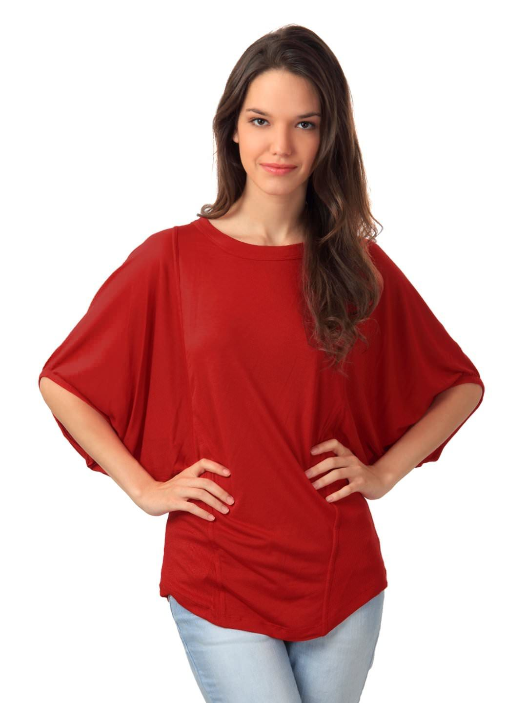ceca56899e7be United Colors of Benetton Women Red Top