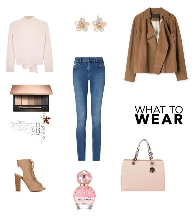 """""""Untitled #328"""" by rangy95 on Polyvore featuring Alexander McQueen, Calvin Klein, MICHAEL Michael Kors, Marc Jacobs and Mixit"""