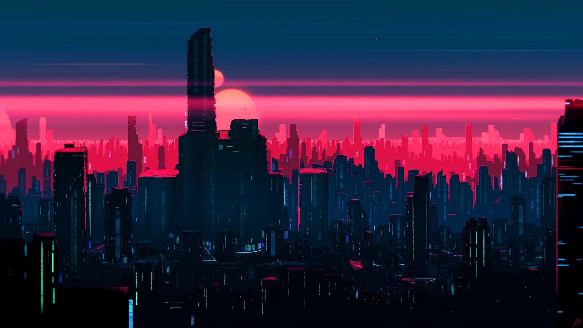 Sondhi On Twitter In 2021 Desktop Wallpaper Art City Wallpaper Sunset Wallpaper