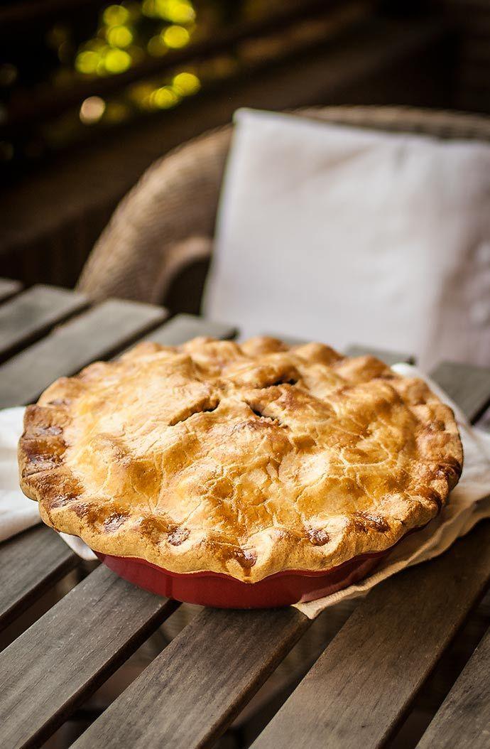 Apple Pie Pastel De Manzana Al Estilo Americano Pay De Manzana Receta Pie De Manzana Receta Pan De Naranja Recetas
