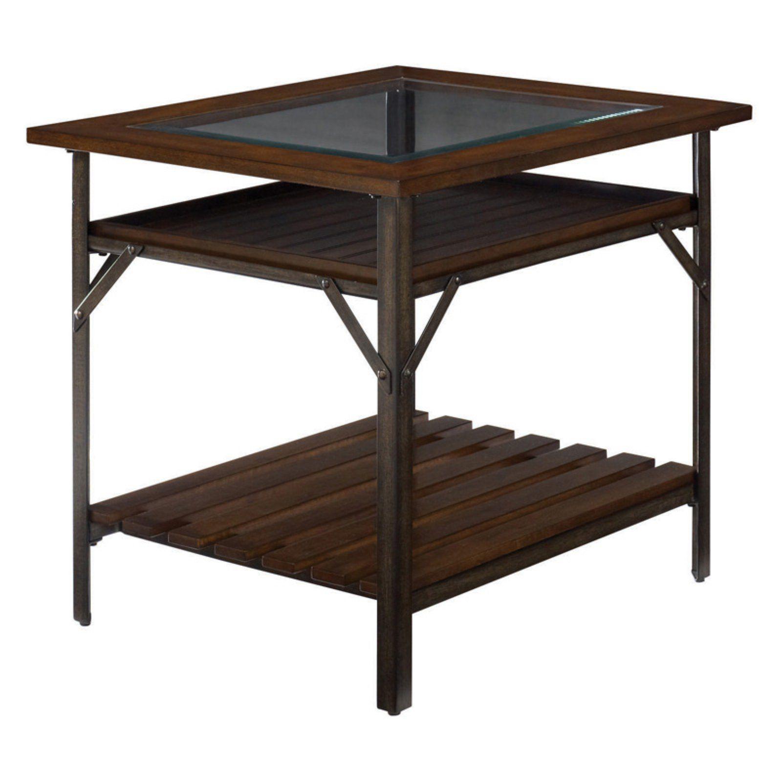 Hammary Mercantile Rectangular End Table Hammary Furniture End