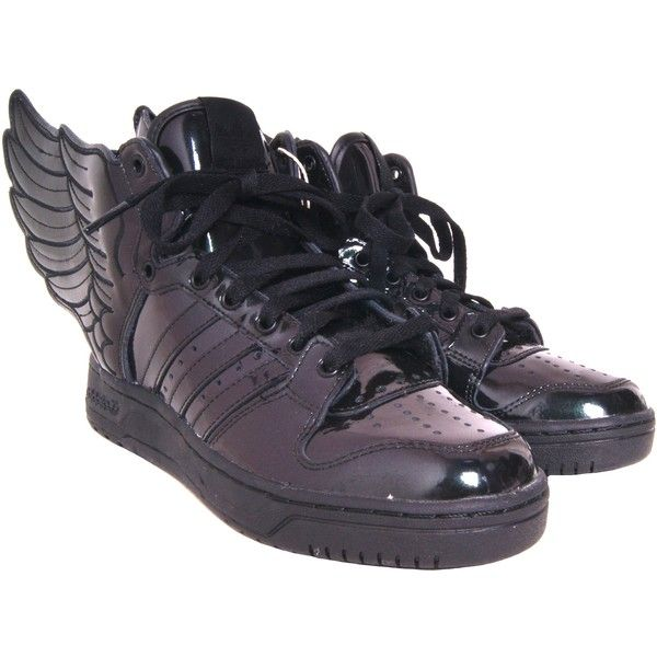 fd48f6237f83 Pre-owned Jeremy Scott for Adidas Winged Trainers (£80) ❤ liked on Polyvore  featuring shoes