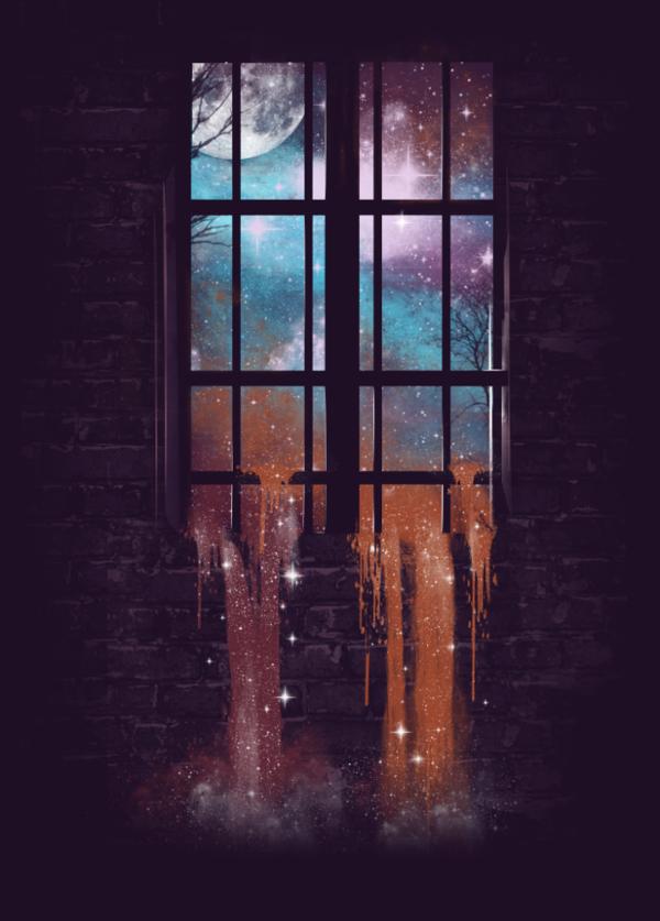 Let The Stars Flow Into You By Dan Elijah Fajardo Via Behance Art Cool Artwork Metal Posters