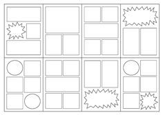 Comic Book Styles And Layouts   Comic and Artwork