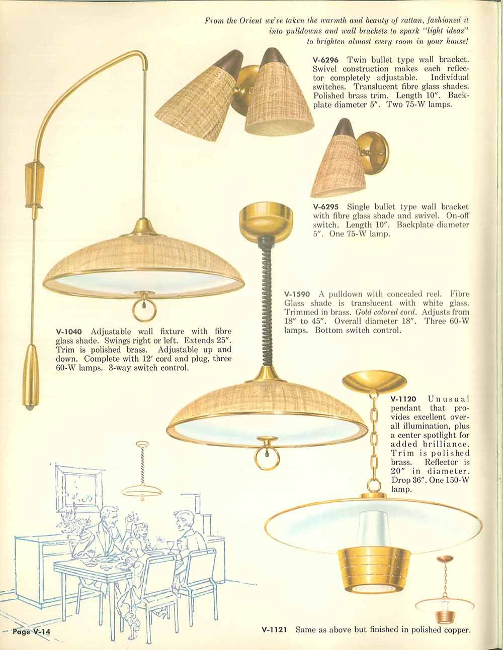 Vintage Virden Lighting 52 Page Catalog From 1959 Trending