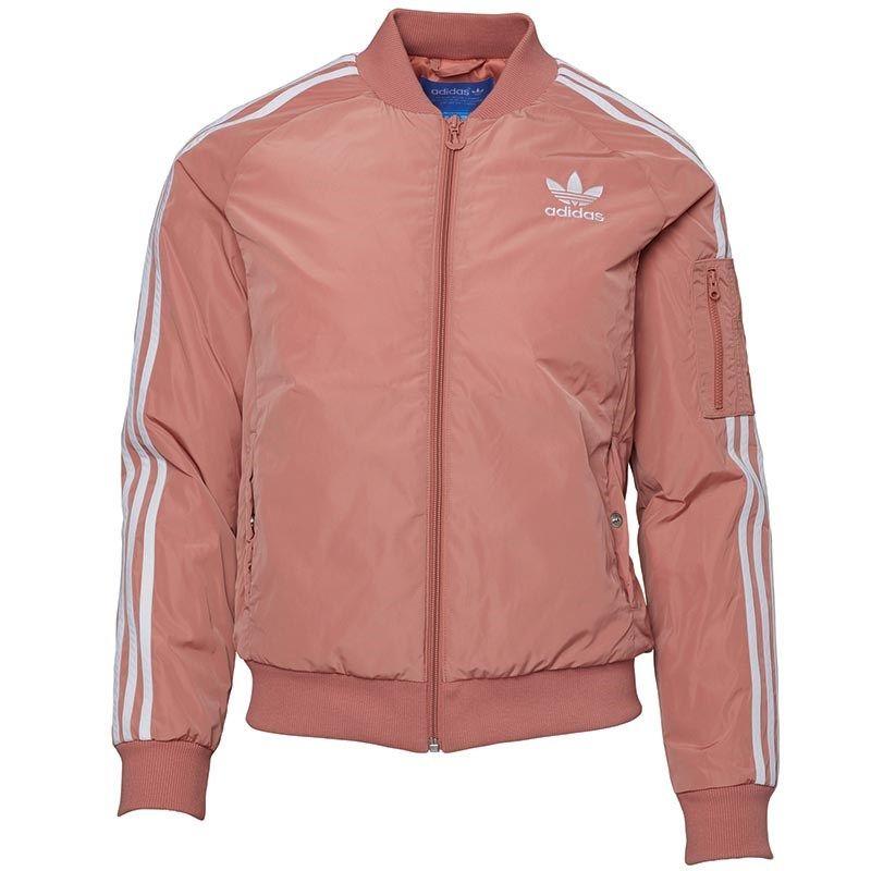 adidas #Originals #Womens #Bomber #Jacket #Raw #Pink ...