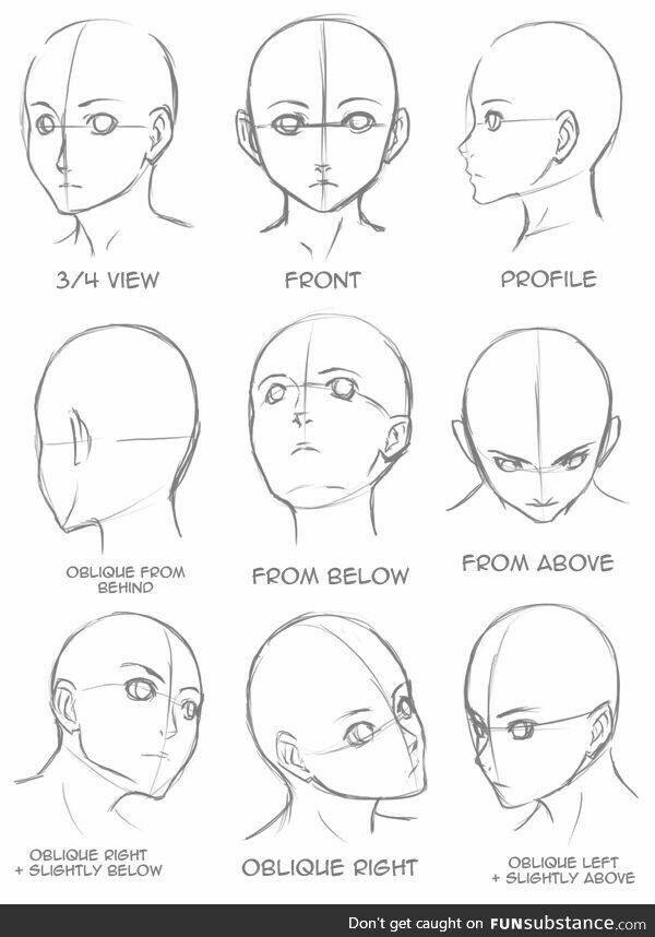 How To Draw Character Face Character Anatomy Drawing Tutorial Sketches Drawing Heads