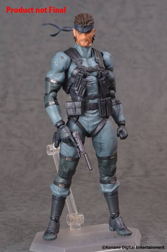 Figma Metal Gear Solid 2 Sons Of Liberty Solid Snake Action Figure