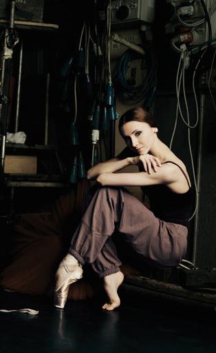 Svetlana Zakharova photographed by Anders Brogaard