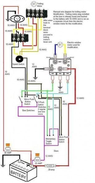 Mercury Thruster Trolling Motor Wiring Diagram Di 2020