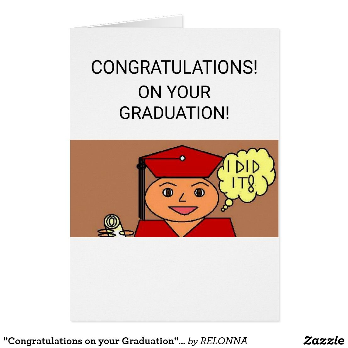 Congratulations On Your Graduation Greeting Card Graduation