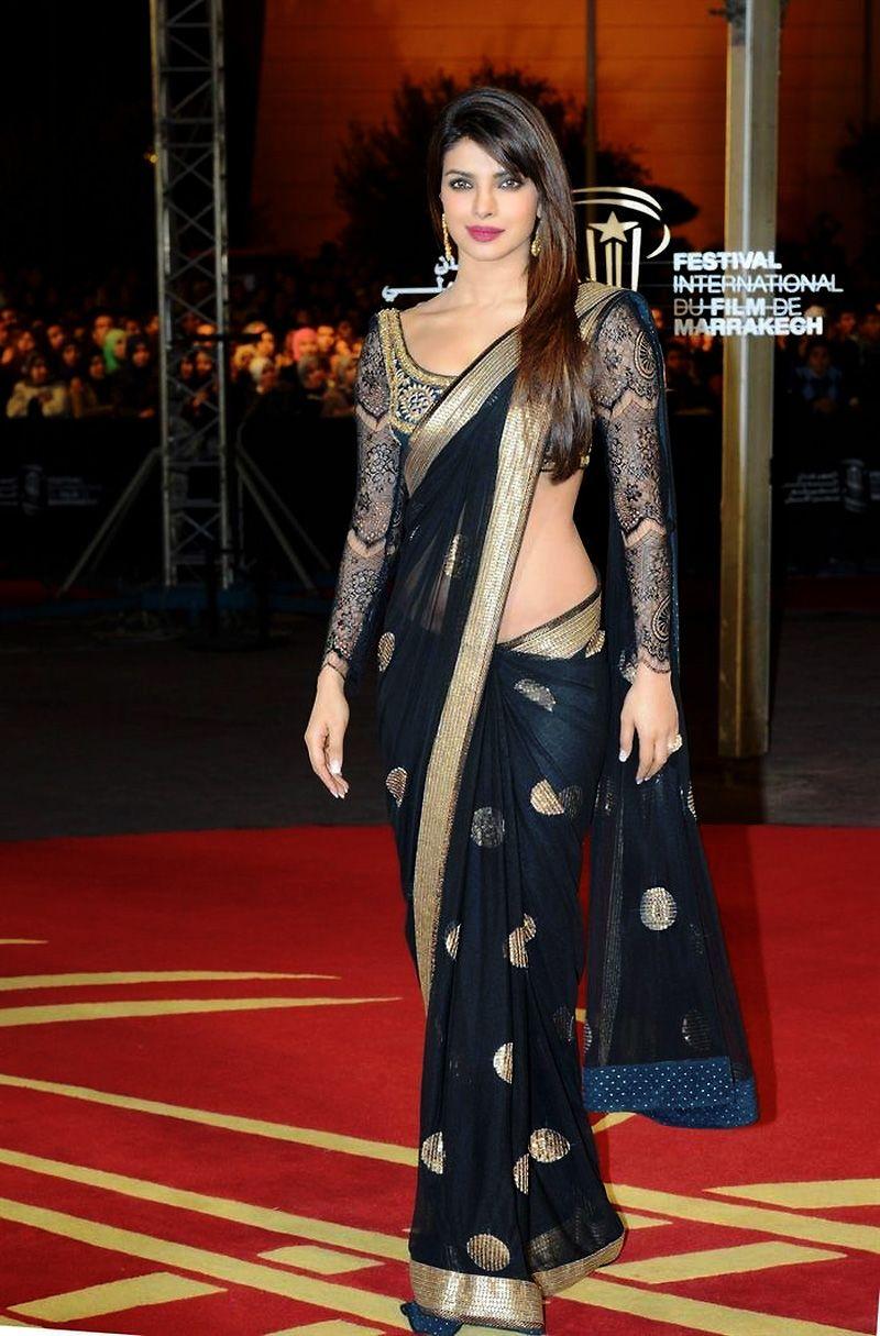 Fashion style Chopra priyanka in marrakech international film festival for girls