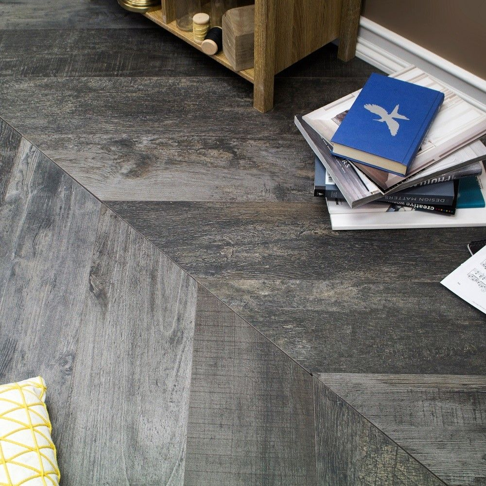 Noon chevron natural charcoal 8x48 porcelain tile foyer floor noon chevron natural charcoal 8x48 porcelain tile dailygadgetfo Gallery