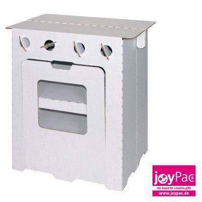 Küchenherd - Möbel - White Line - Produkt-Kategorien - Joypac - Kreatives aus Wellpappe und Karton - Bastelspaß