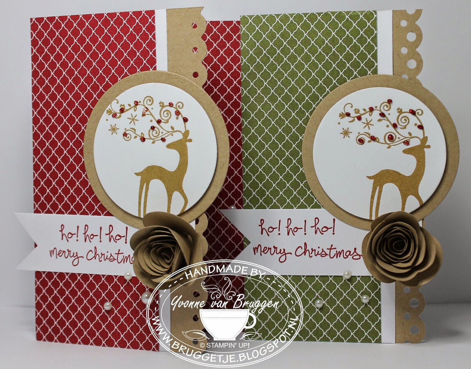 .....Yvonne is Stampin´ and Scrapping.....: 52 weeks en cadeautje..