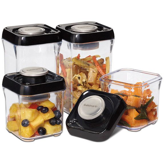 Fresh Edge Food Storage Containers Set Of 8 With Images Food