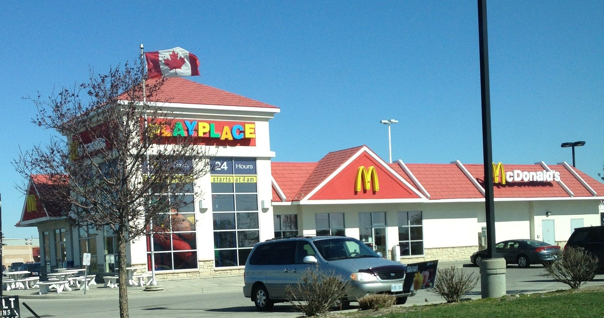 Newer McDonald\'s at Superstore Mall Wellington Rd past Exeter Rd ...