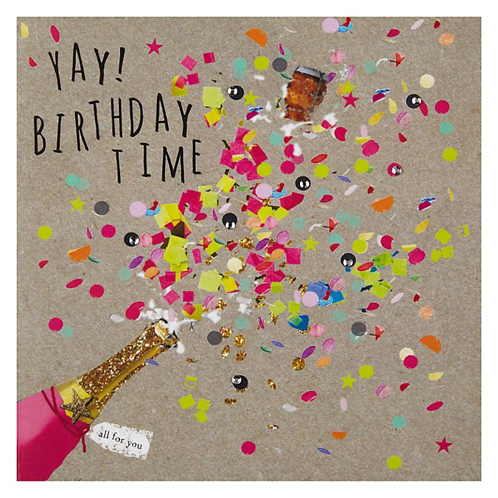 Buy hammond gower champagne confetti birthday card online at buy hammond gower champagne confetti birthday card online at johnlewis bookmarktalkfo Image collections