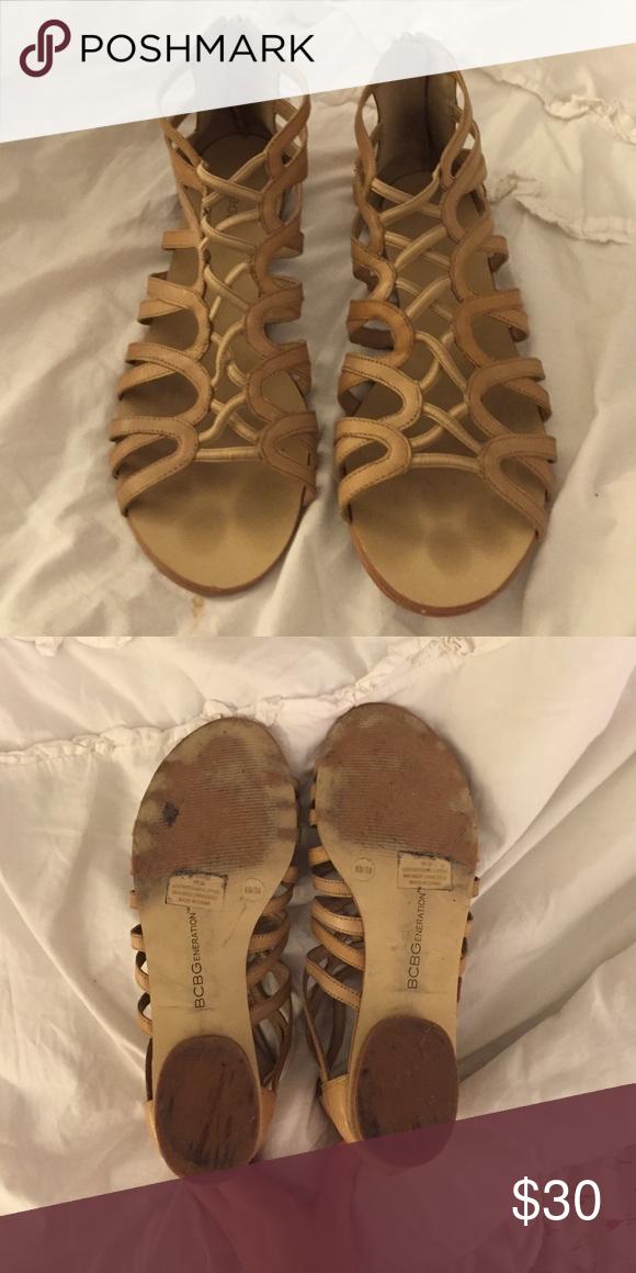 BCBGeneration Short Gladiator Sandals BCBGeneration size 8 BCBGeneration Shoes