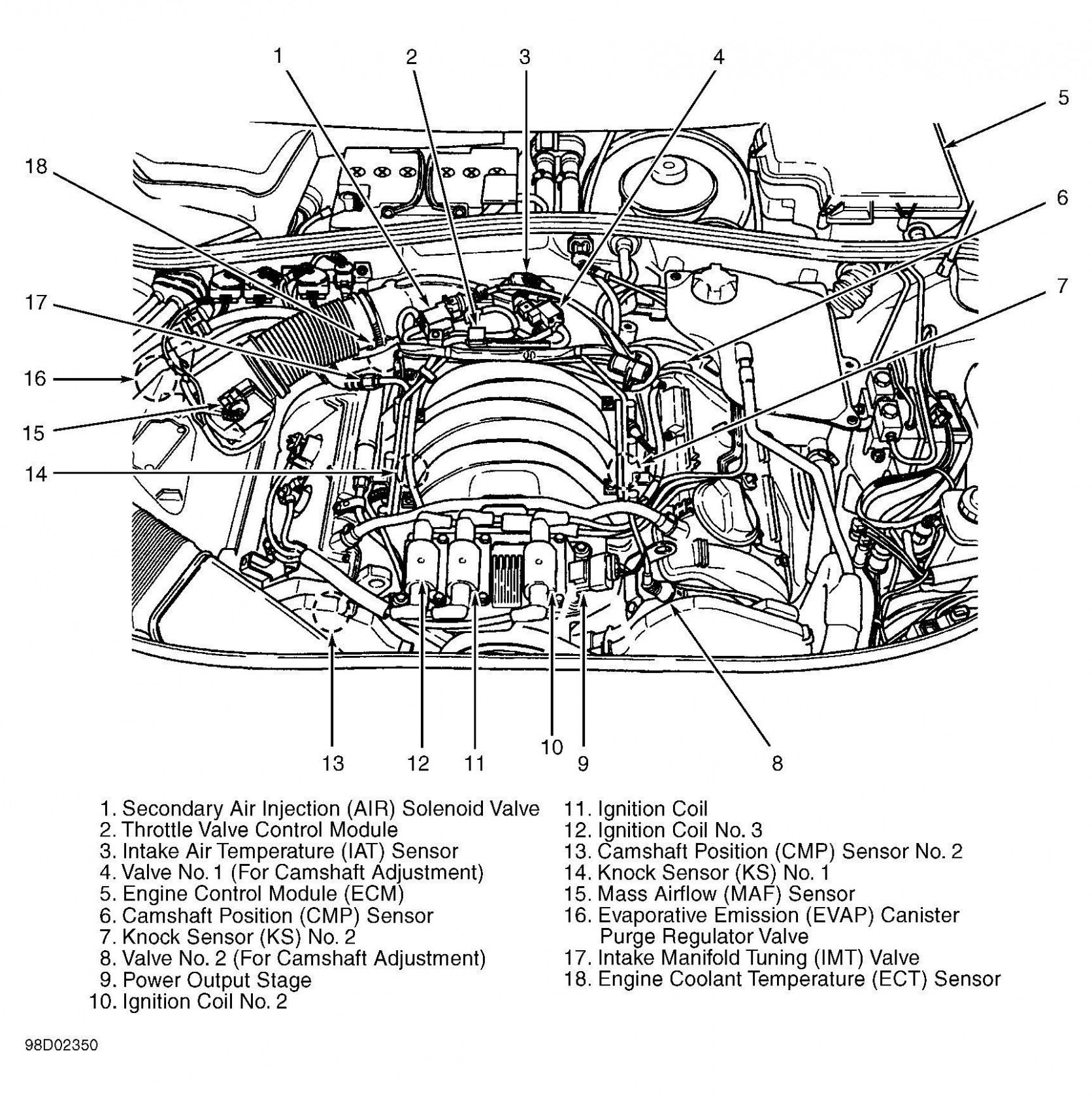 Vr6 Engine Diagram Knock Sensor