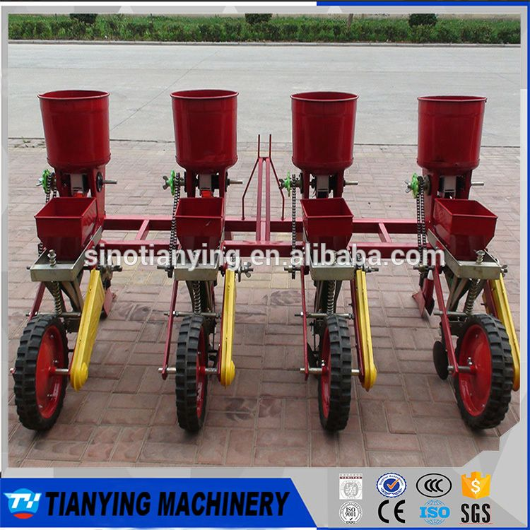 Hot Sale 4 Rows Corn Planter With Fertilizer For Tractors Alibaba