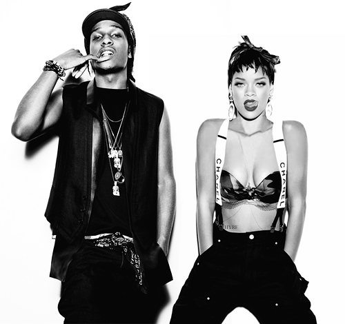 Rihanna and ASAP Rocky will be in Baltimore April 24th! #Diamonds #world #
