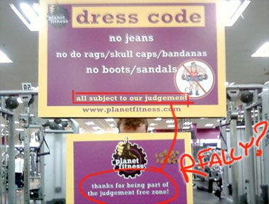 Thank You Planet Fitness Is The Ultimate Oxymoron Planet Fitness Workout Workout Memes Gym Fitness Motivation